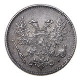 Silver coin, 1917 Stock Image