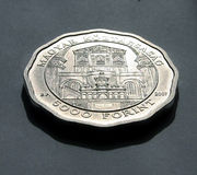 Silver Coin Stock Images