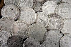Silver coin Stock Photography