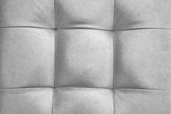 Silver Color Natural Leather Cushion Or Pillow Or Puff Backgroun stock image