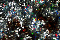 Silver colored Christmas background texture Stock Image