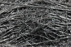 Silver colored meshwork. As texture or background royalty free stock images