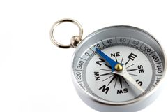 Silver Compass Royalty Free Stock Photography