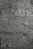 Silver concrete background. Concrete sprayed with silver colour Stock Photography