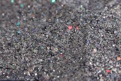 Silver glitter background sparkling closeup Stock Photo