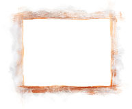 Silver & Copper painted border frame Stock Image