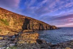 Silver Cove, Devon Stock Photography