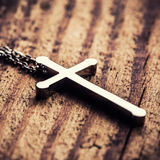 Silver cross Stock Images