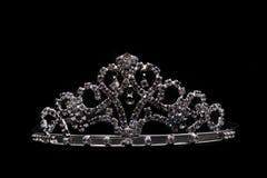 Silver crown Stock Photo