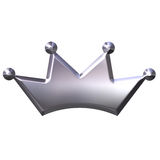Silver Crown Stock Images