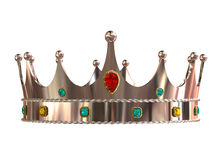 Silver crown Stock Photography