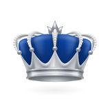 Silver crown Royalty Free Stock Image