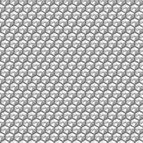 Silver crystal sequins in a seamless pattern Stock Images