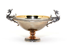 Silver cup Stock Image