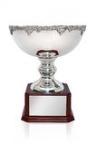 Silver Cup Trophy Stock Photography