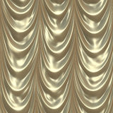 Silver curtain Stock Photography