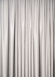 Silver curtain Royalty Free Stock Photo