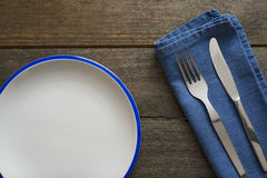 Silver cutlery Royalty Free Stock Photography