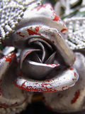 Silver decoration stock image