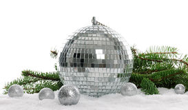Silver decoration Stock Photography