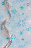 Silver decorative Ribbon Royalty Free Stock Images