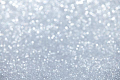 Silver Defocused Background stock photography