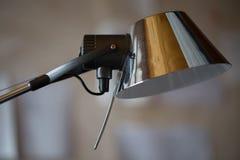 Silver desc lamp Royalty Free Stock Image