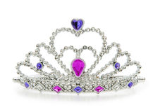 Silver diadem Stock Photography