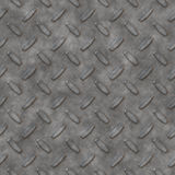 Silver diamond plate Royalty Free Stock Image