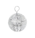 Silver disco ball Royalty Free Stock Photography