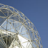 Silver dome Royalty Free Stock Image