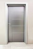 Silver door Stock Photos