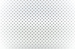 Silver dot line blank white background vector design Royalty Free Stock Images