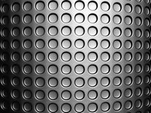 Silver dots pattern background Royalty Free Stock Photos