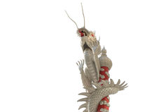 silver dragon Royalty Free Stock Photography