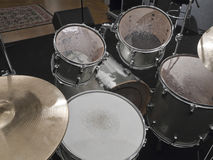 Free Silver Drums Royalty Free Stock Image - 19939796