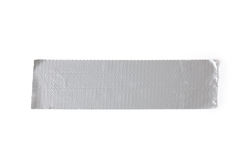Silver duct tape Royalty Free Stock Image