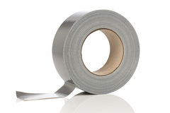 Silver duct tape stock images