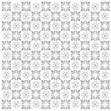 Silver elegant flower ornamental backdrop Stock Photography