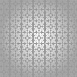Silver elegant flower ornamental backdrop Royalty Free Stock Image