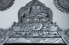 Silver etchings Royalty Free Stock Photo
