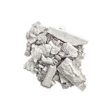 Silver eyeshadow isolated Royalty Free Stock Images