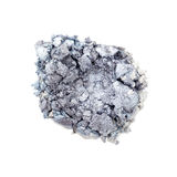 Silver eyeshadow powder Royalty Free Stock Image