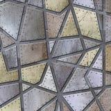 silver för bakgrundsmetallplatta arkivfoton
