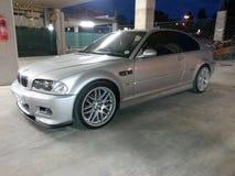 Silver för M3 E46 BMW Arkivfoton