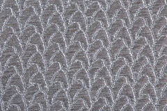 Silver fabric texture Stock Photos