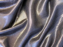 Silver fabric texture Royalty Free Stock Photos