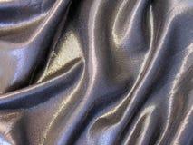 Silver fabric texture Royalty Free Stock Photos