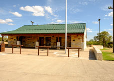 Silver Falls Rest Area, Highway 82, Texas Stock Images