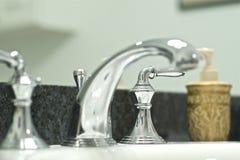 Silver Faucet Stock Photos